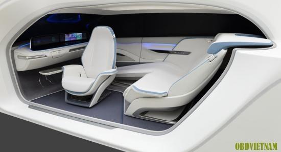 """Hyundai Trình diễn xe có hệ thống """"chăm sóc sức khỏe"""" cho tài xế"""