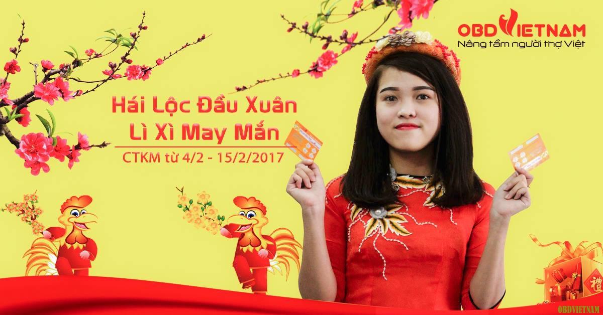 Khai trương đầu năm – Lì xì lớn tại Obd Việt Nam