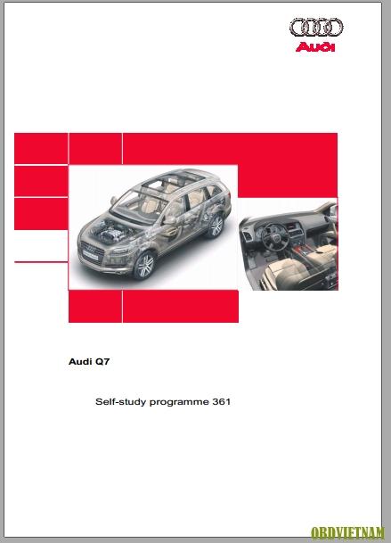 Tải Tài liệu đào tạo xe AUDI Q7 cơ bản