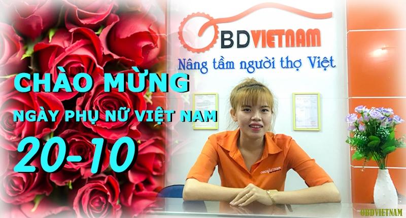 OBD Việt Nam Chào Mừng Ngày Phụ Nữ Việt Nam 20/10/2017