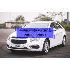 Phân Tích Mã Lỗi P0016, P0017 Trên Dòng Xe Chevrolet 2011