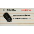 Thủ Thuật Máy Chẩn Đoán - Cài Đặt Remote Trên Dòng Xe Toyota Qua Các Đời