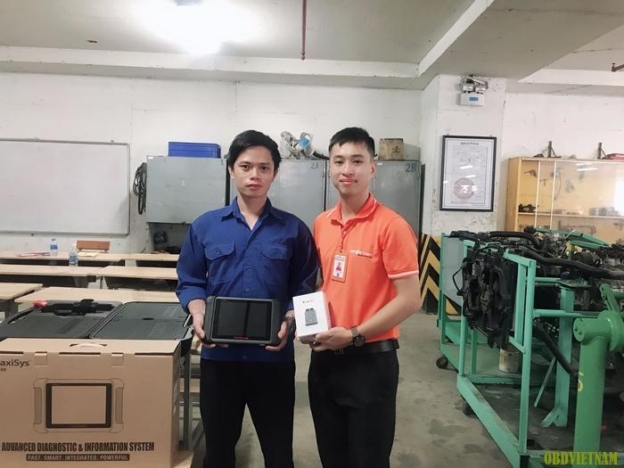 OBD Việt Nam Chuyển Giao Máy Chẩn Đoán Autel MaxiSys MS906 Và G-scan Tab