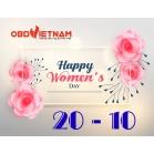 OBD Việt Nam Chúc Mừng Ngày Phụ Nữ Việt Nam 20 - 10