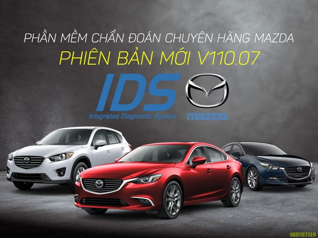 Thông Báo Cập Nhật Phần Mềm Mazda IDS Mới