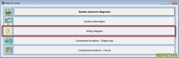 Wiring diagram phần mềm Autodata