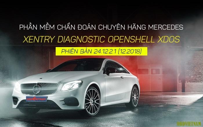 Thông Báo Cập Nhật Phần Mềm Xentry Diagnostic OpenShell XDOS