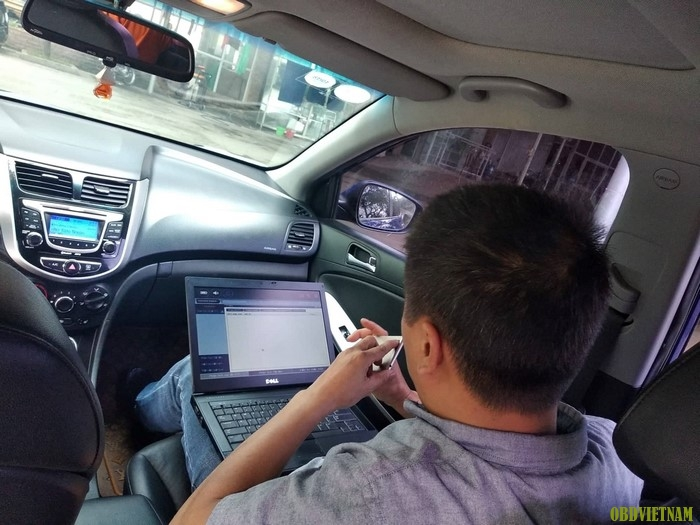 Chuyển Giao G-scan Tab Cho Anh Cường Gara HTC 999