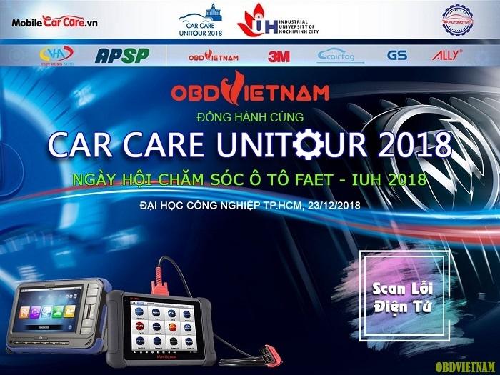 OBD Việt Nam đồng tổ chức cùng Care Care Unitour 2018