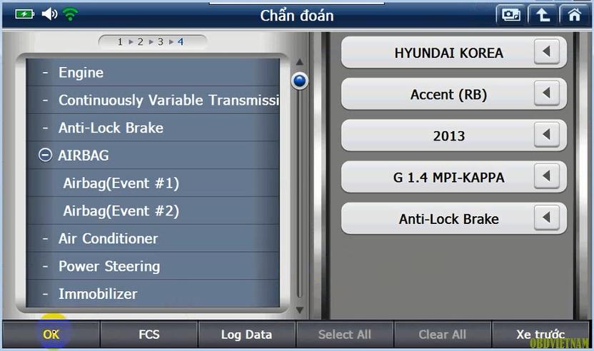 Máy Chẩn Đoán G-scan 2 Đồng Bộ Hệ Thống Phanh Điện Tử Dòng Xe Kia Và Hyundai