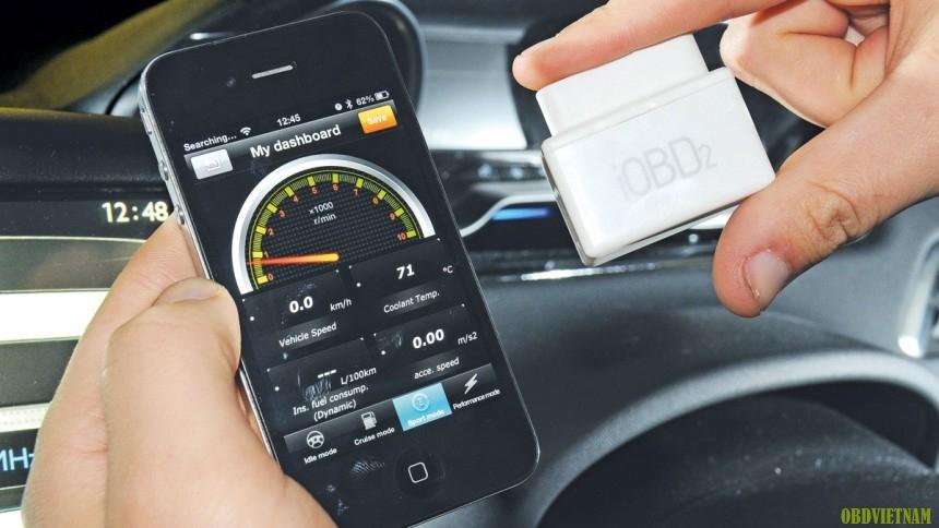Ứng Dụng Smartphone Theo Dõi Sức Khỏe Xế Hộp