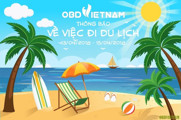 Công Ty Cổ Phần OBD Việt Nam Thông Báo Về Việc Đi Du Lịch