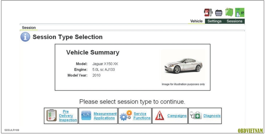 Tiếng Anh Chẩn Đoán Trên Thiết Bị Chẩn Đoán Land Rover - Jaguar