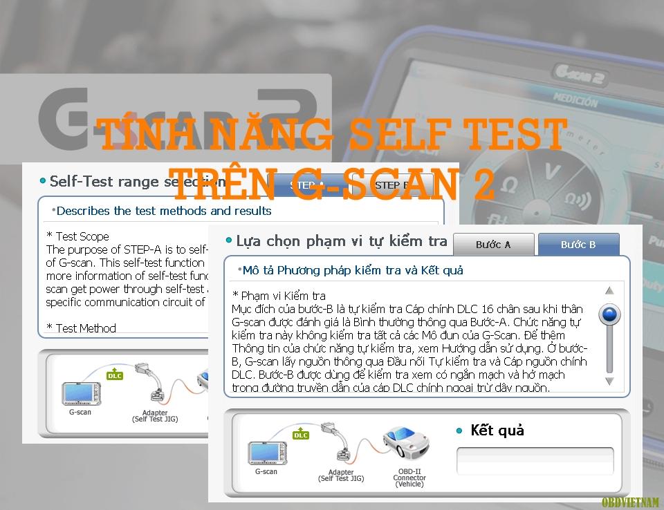 Thủ Thuật Máy Chẩn Đoán – Tính Năng Tự Kiểm Tra (Self Test) Trên G-scan 2