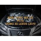 Phân Tích Mã Code P0141 Trên Dòng Xe Lexus LX570 2007