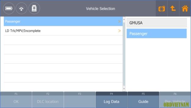 Thủ Thuật Máy Chẩn Đoán - Hướng Dẫn Chọn Dòng Xe Hãng GM USA Trong Phần Mềm G-Scan Tab Và G-Scan 2