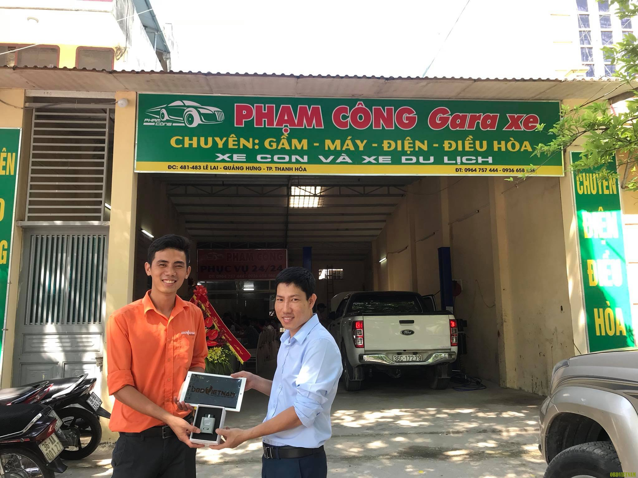 OBD Việt Nam Chuyển Giao Máy Chẩn Đoán Tại Thanh Hóa