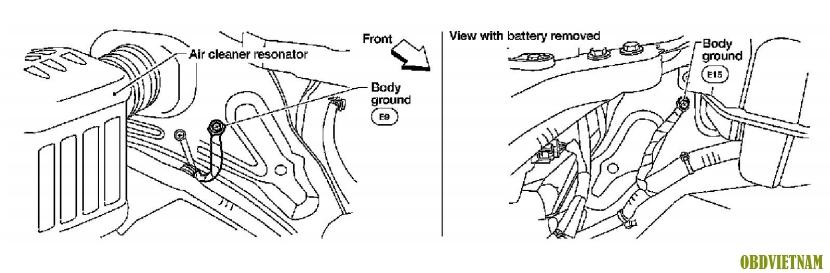 Phân Tích Mã Lỗi C1211 G2.5L - P0137 Frontier L4 2.5L Trên Dòng Xe Nissan Navara 2012