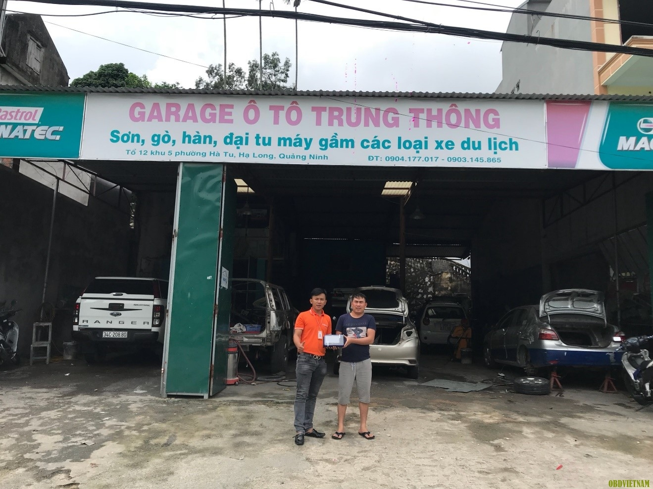 OBD Việt Nam Chuyển Giao Máy Chẩn Đoán Đa Năng G-scan 2 tại Quảng Ninh