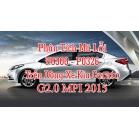 Phân Tích Mã Lỗi P0300 - P0326 Trên Dòng Xe Kia Cerato G2.0 MPI 2015