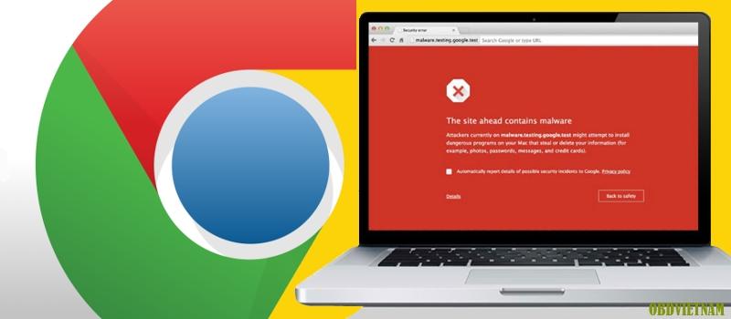 Không nên truy cập các tranh web bị cấm