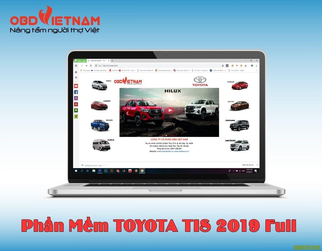Toyota TIS - Phần Mềm Tra Cứu 2019