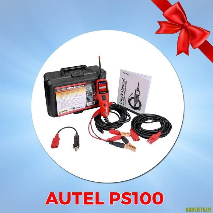 Khuyến mãi G-scan 2 tặng Autel PS100