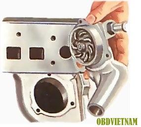 Chỉnh lại các ống và căng đai (kiểm tra, điều chỉnh và chỉnh lại đai truyền động)