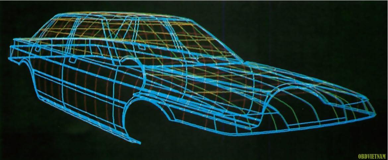 Thiết kế khí động lực học ô tô