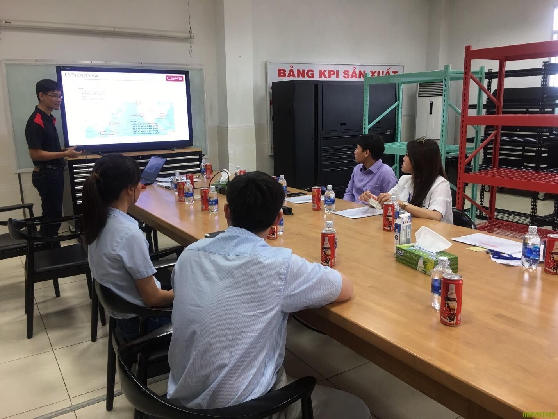 Lãnh đạo OBD Việt Nam đi tham quan xưởng CSPS