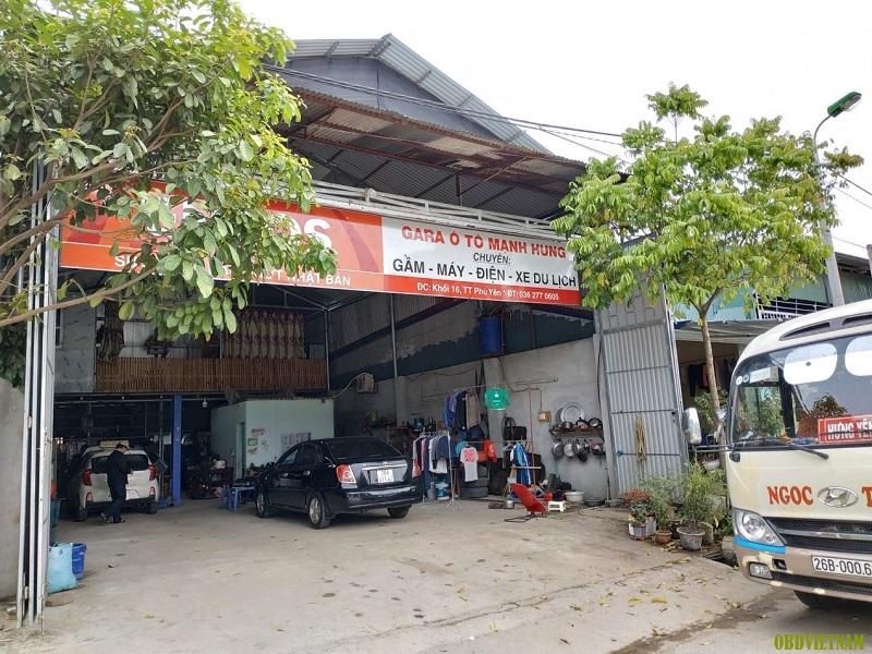 Garage ô tô Mạnh Hùng mua Gscan 2 tại OBD Việt Nam