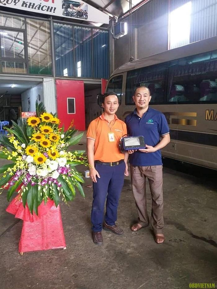 KTV OBD Việt Nam chuyển giao máy chẩn đoán cho anh Huy tỉnh Phú Thọ