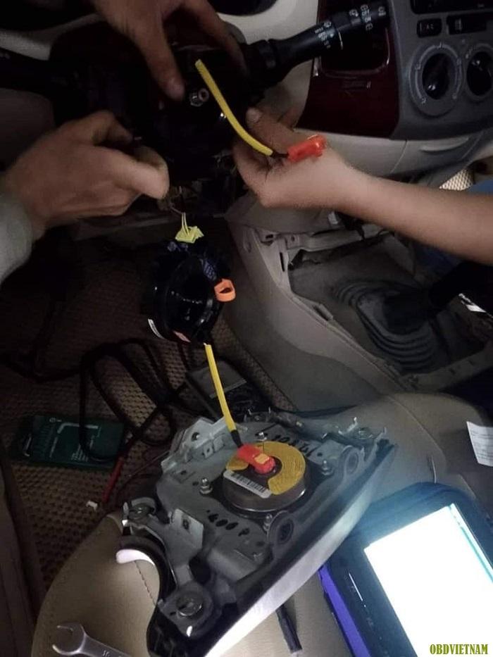 KTV OBD Việt Nam hướng dẫn anh em garage sử dụng G-scan 2