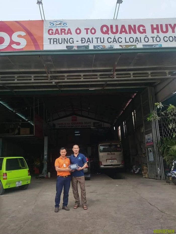 Anh Huy tạm biệt KTV OBD Việt Nam