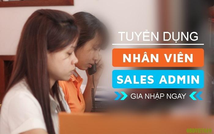 OBD Việt Nam tuyển dụng nhân viên Sales Admin