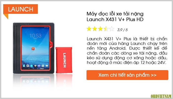 Máy đọc lỗi Launch X431 V+ Plus HD