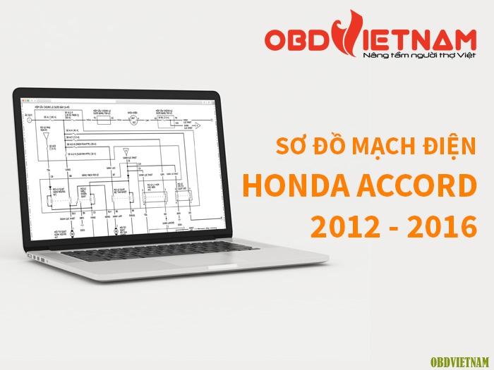 Chia Sẻ Tài Liệu - Sơ Đồ Mạch Điện Honda Accord 2012 – 2016