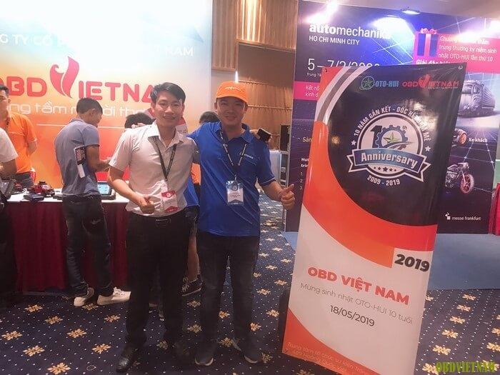 OBD Việt Nam cùng sinh nhật OTO-HUI