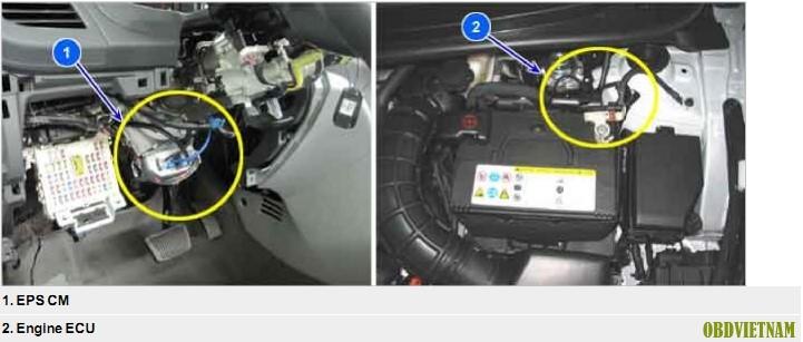 Phân Tích Mã Lỗi C1611 Trên Xe Hyundai ACCENT (RB) G1.6 MPI Năm Sản Xuất 2015