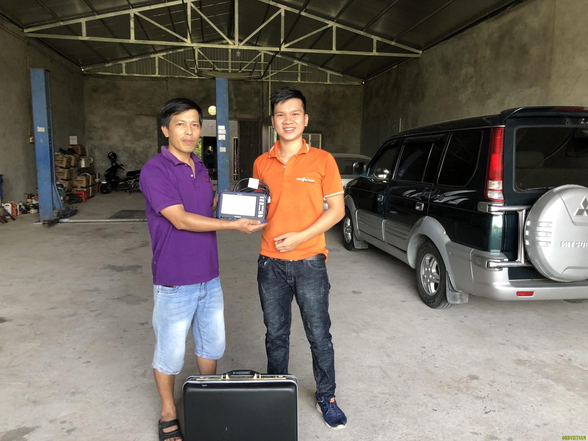 OBD  Chuyển Giao Máy Chẩn Đoán Gscan 2 Cho Anh Thuận Ở Hưng Yên