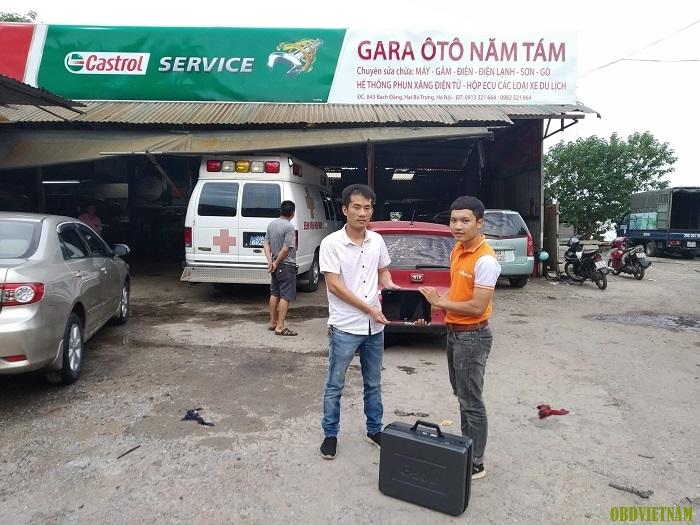 KTV OBD Việt Nam chuyển giao máy đọc lỗi đa năng G-Scan 3