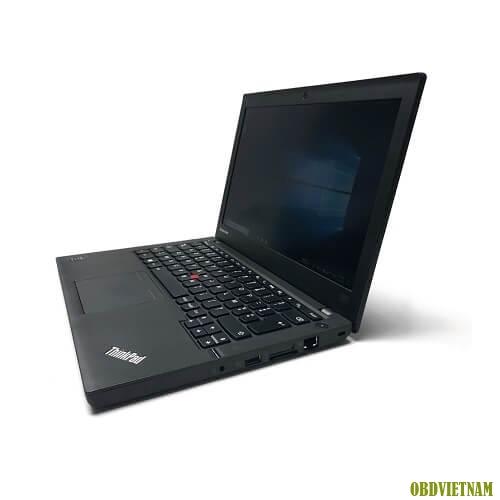 Góc hông của máy tính chuyên dụng Lenovo Thinkpad X240