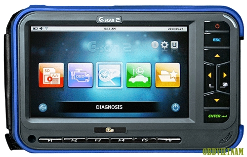 Hướng dẫn sử dụng G-scan 2 trên xe Toyota Camry.