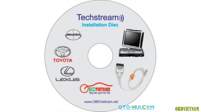 Thiết bị chẩn đoán Toyota Techstream Mini VCI 2016