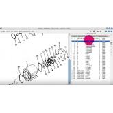 Phần mềm tra mã phụ tùng KOMATSU LINKONE