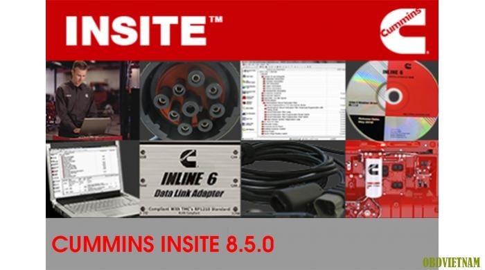 Phần Mềm Chẩn Đoán CUMMINS INSITE 8.5.0