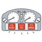 Đèn cảnh báo lỗi thường gặp trên xe Toyota