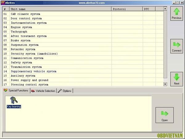 Description: FVDI ABRITES Commander cho DAF với Free Hyundai / Kia và TAG Tool Key phần mềm