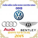 Phần Mềm Chẩn Đoán Chuyên Hãng Audi/Volkswagen/Bentley ODIS V4.1.4 Phiên Bản 2017