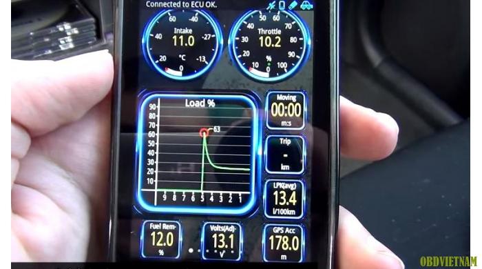 Thiết bị chẩn đoán MINI ELM327 Bluetooth OBD2 V1.5